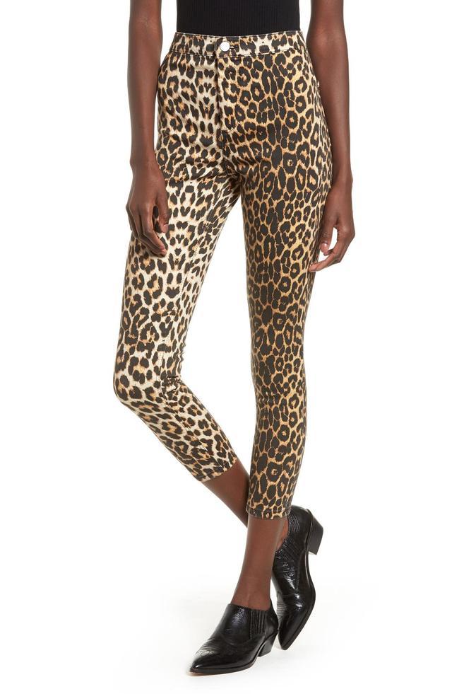 Joni Leopard Jeans