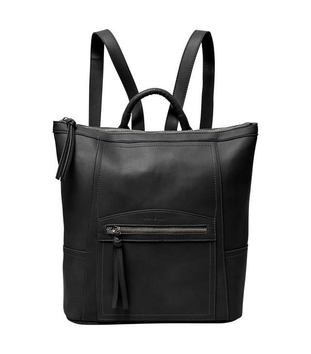 Eternity Vegan Leather Backpack - Green