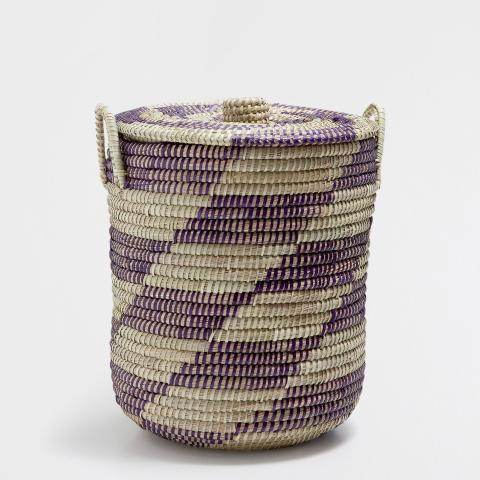 Geometric Design Basket