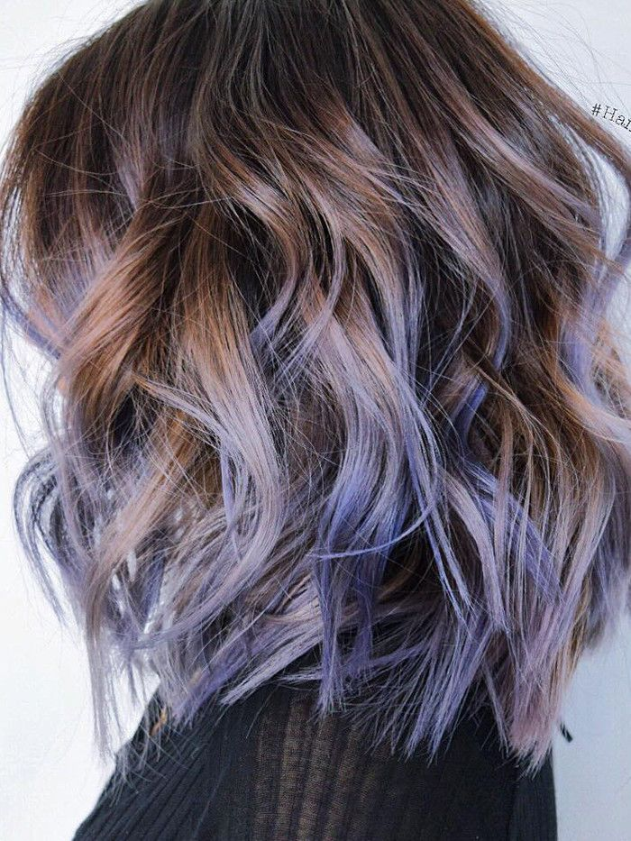 Purple Balayage Byrdie Uk