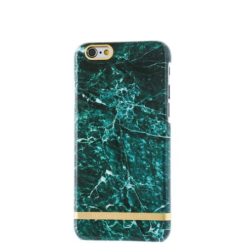 Green Marble Glossy Phone Case