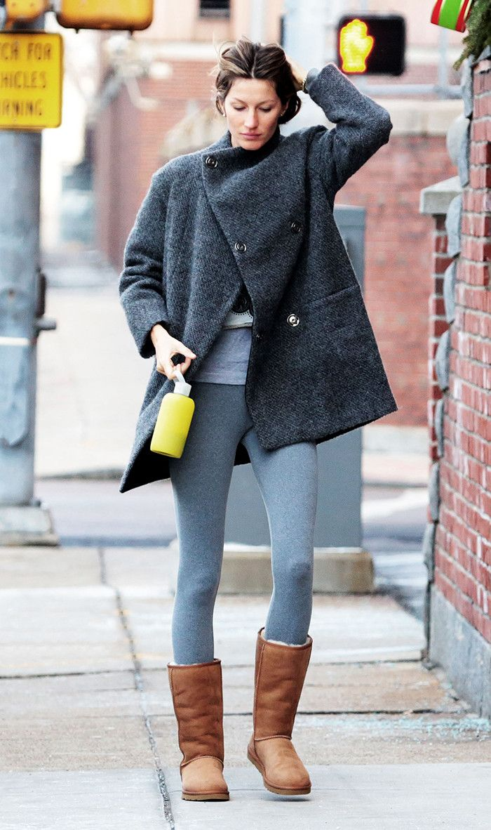 The Best Ways To Wear Leggings And Uggs This Winter Who
