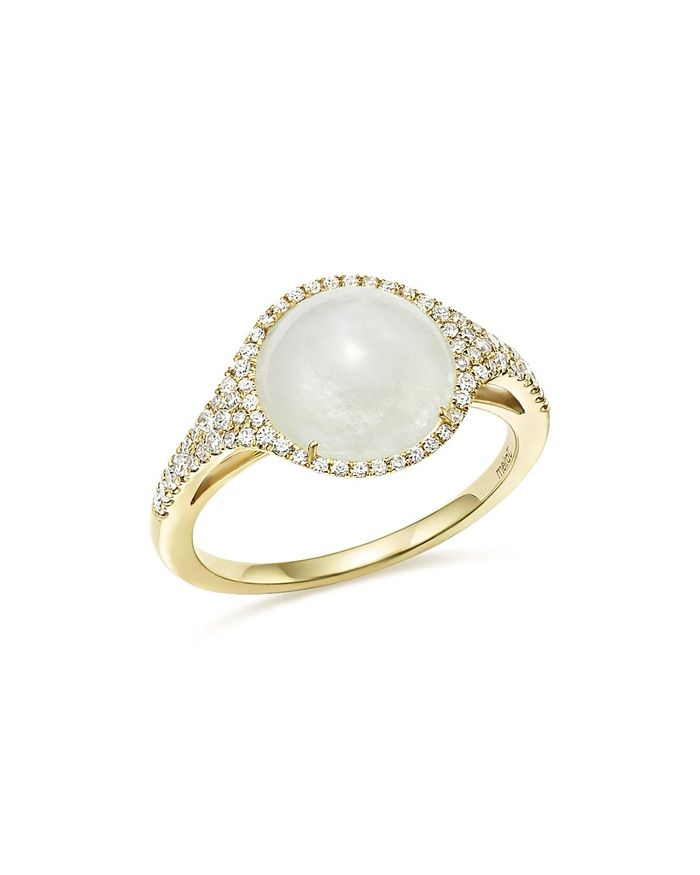20 Breathtaking Moonstone Engagement Rings | Who What Wear