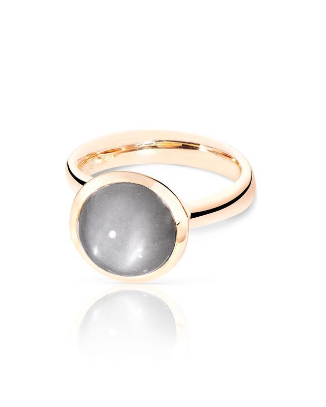 Tamara Comolli 18k Rose Gold Large Bouton Moonstone Cabochon Ring, Size 7/54