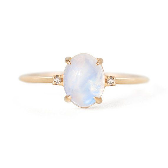 Jamie Park Jewelry Solid Gold Moonstone Ring