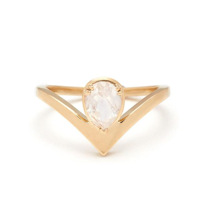 Anna Sheffiled Celestine Orbit Ring