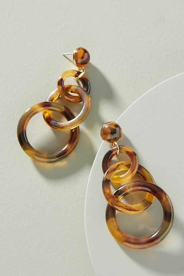 Linked Up Drop Earrings