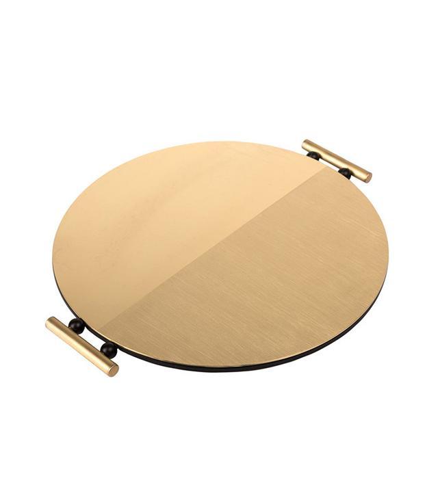 Mingardo Round Brass Tray