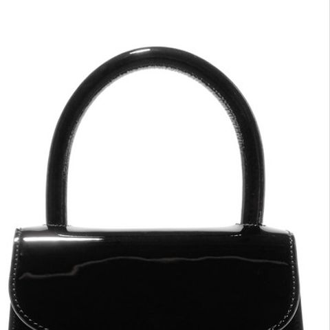 Mini Patent Leather Tote