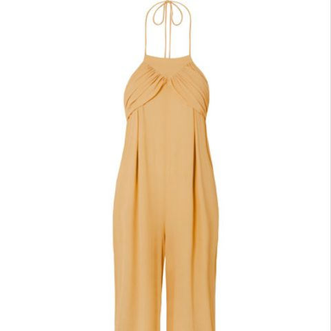 L'Ensemble Saha Crepe De Chine Jumpsuit