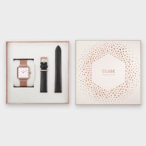 La Garconne Rose Gold Mesh / Black Gift Box