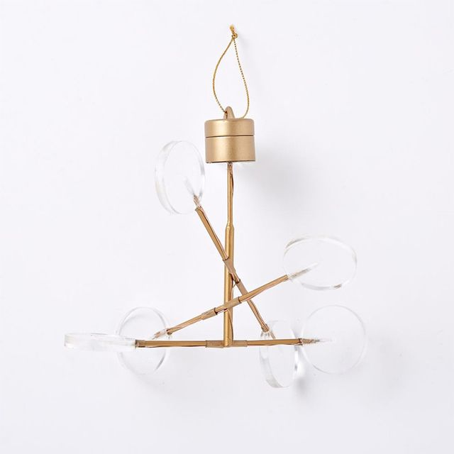 West Elm LED Light-Up Ornament - Chandelier