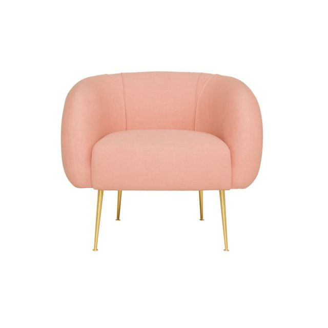 Fredom SANCTUARY armchair with gold leg