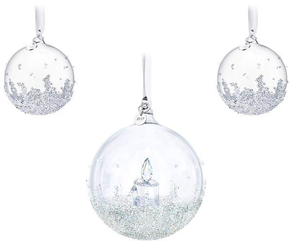 Swarovski Christmas Ball Ornament Set
