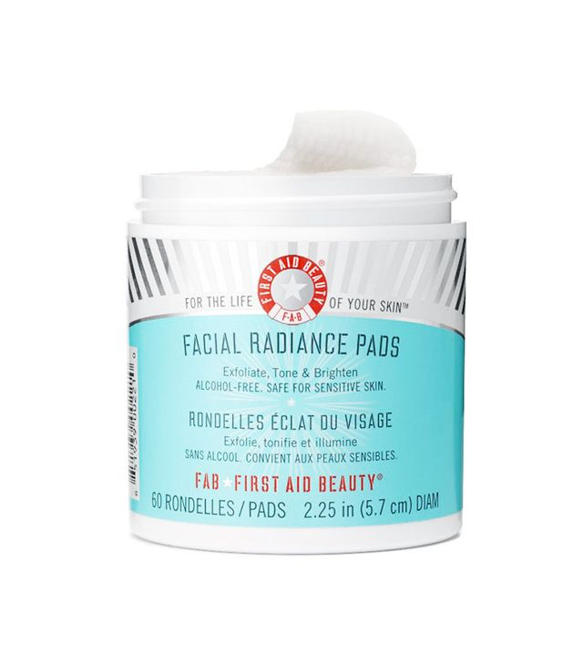 best-skincare-routine-30s-First-Aid-Beauty-Facial-Radiance-Pads