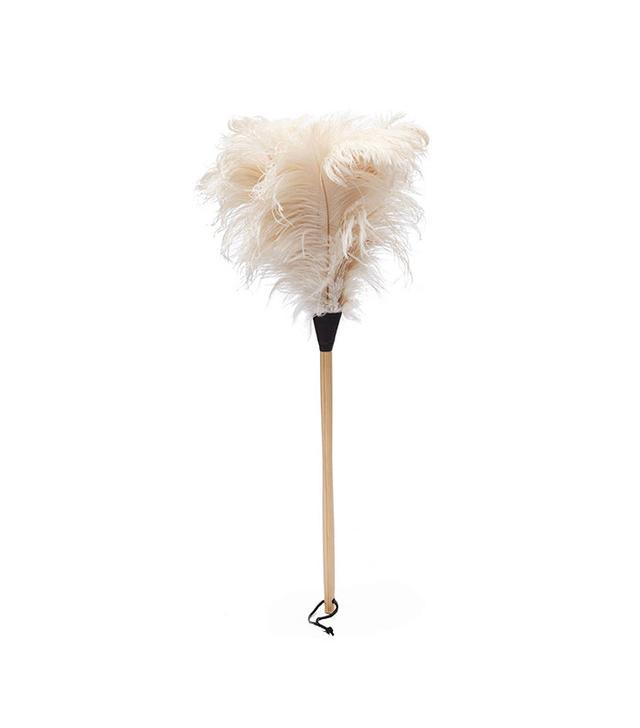 Redecker White Ostrich Feather Duster