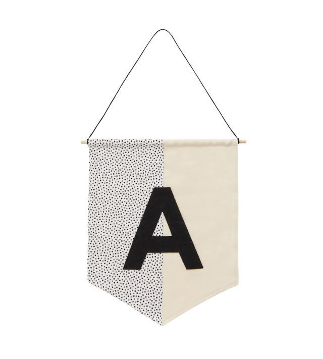 Kit Cat & Co. Alphabet Wall Flag
