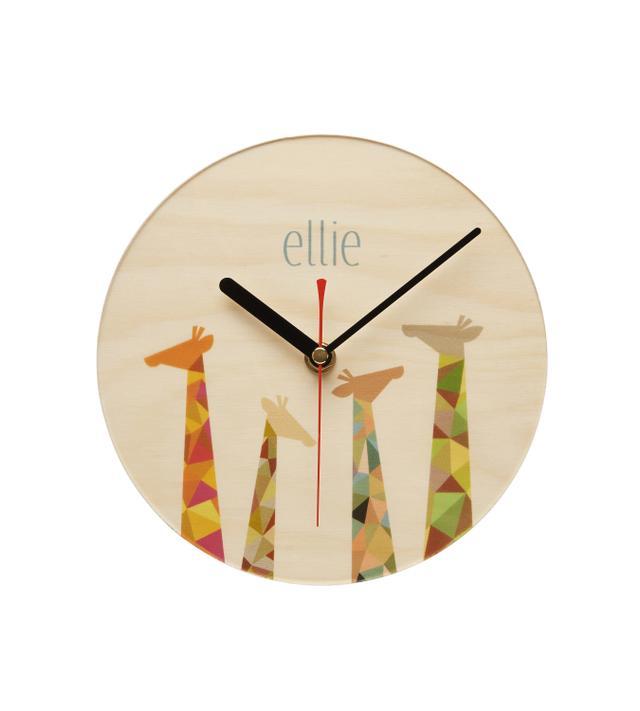 Mr Wolfe Personalised Clock