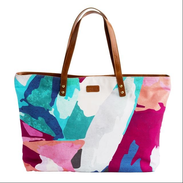 Squeak Design Abstract Shopper Bag