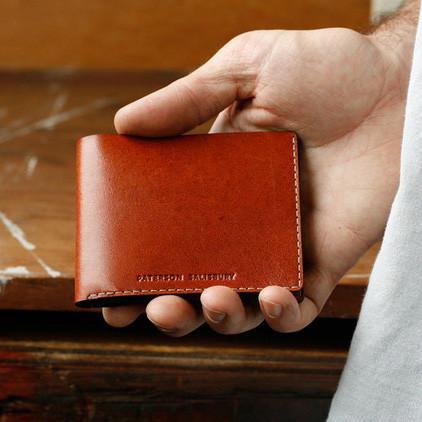 Paterson Salisbury Kangaroo Leather Wallet Classic