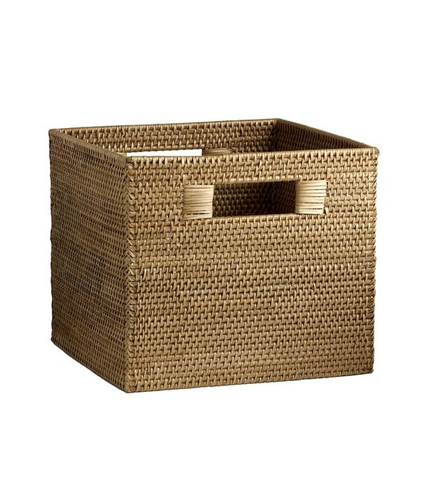 woven storage bins