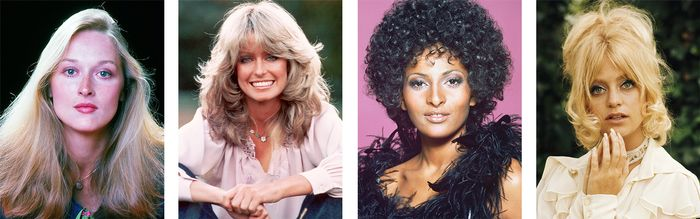 Chic 70s Hairstyles Youd Be Mad Not To Try Now Byrdie
