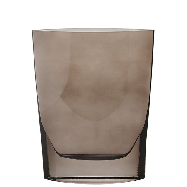 Tilbury Smoke Glass Vase