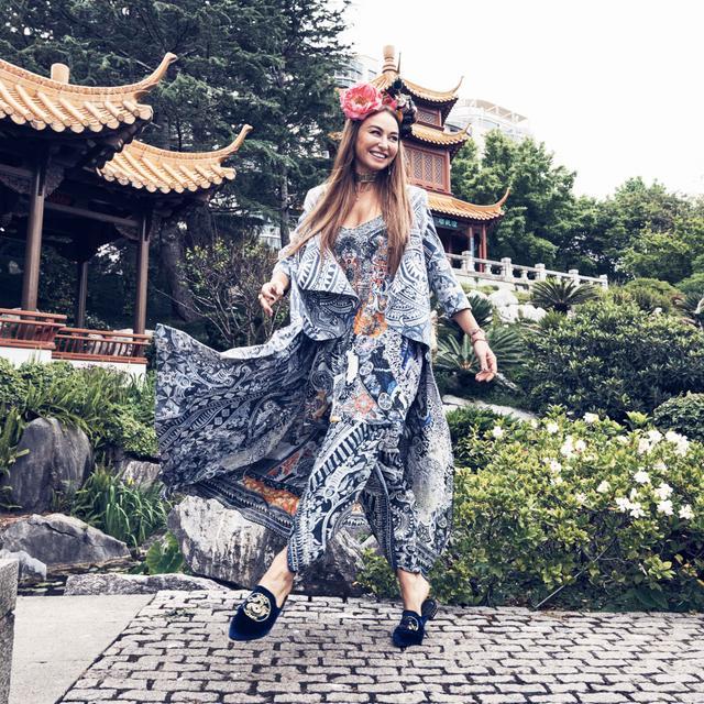 How Camilla Franks Captivated the World With a Kaftan