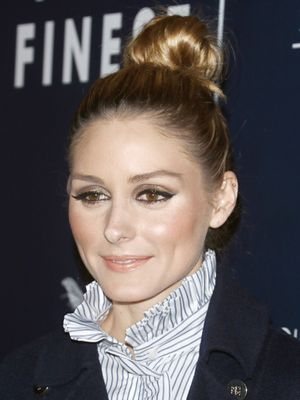 Olivia Palermo's Messy Bun Is Perfect for Sydney's Rainy Weather