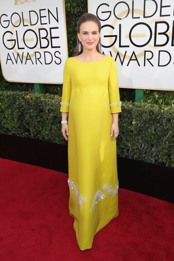 <p><strong>WHO:</strong> Natalie Portman</p> <p><strong>WHAT:</strong> Actress</p> <p><strong>WEAR:</strong> Prada dress</p>