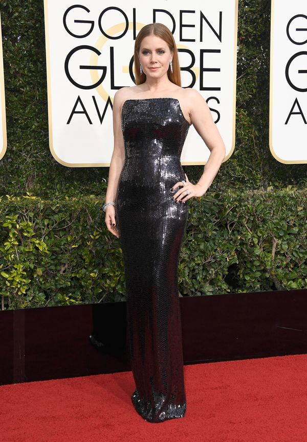 <p><strong>WHO:</strong> Amy Adams</p> <p><strong>WHAT:</strong> Actress</p> <p><strong>WEAR:</strong> Tom Ford dress</p>