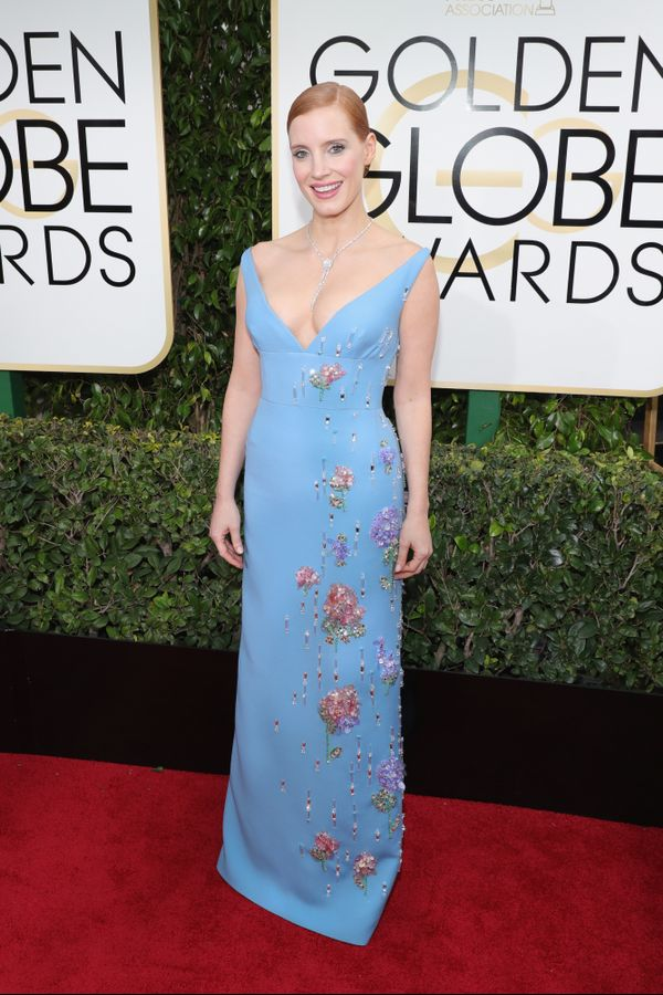 """<p style=""""text-align: left;""""><strong>WHO:</strong> Jessica Chastain</p> <p style=""""text-align: left;""""><strong>WHAT:</strong> Actress</p>"""