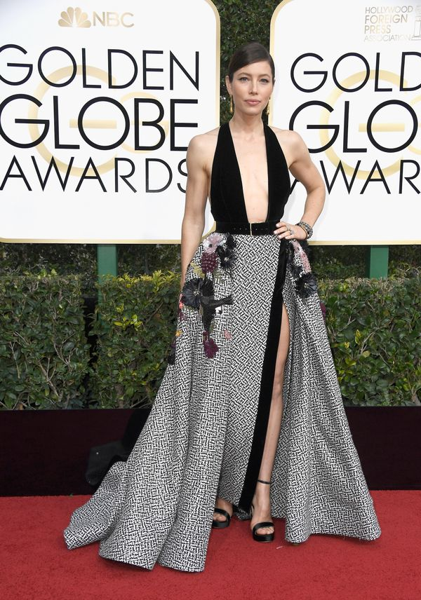 <p><strong>WHO:</strong> Jessica Biel</p> <p><strong>WHAT:</strong> Actress</p> <p><strong>WEAR:</strong> Elie Saab dress</p>