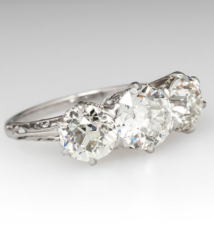 Where To Get Vintage Engagement Rings Who What Wear