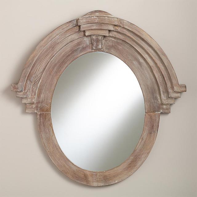 World Market Maddox Mansard Mirror
