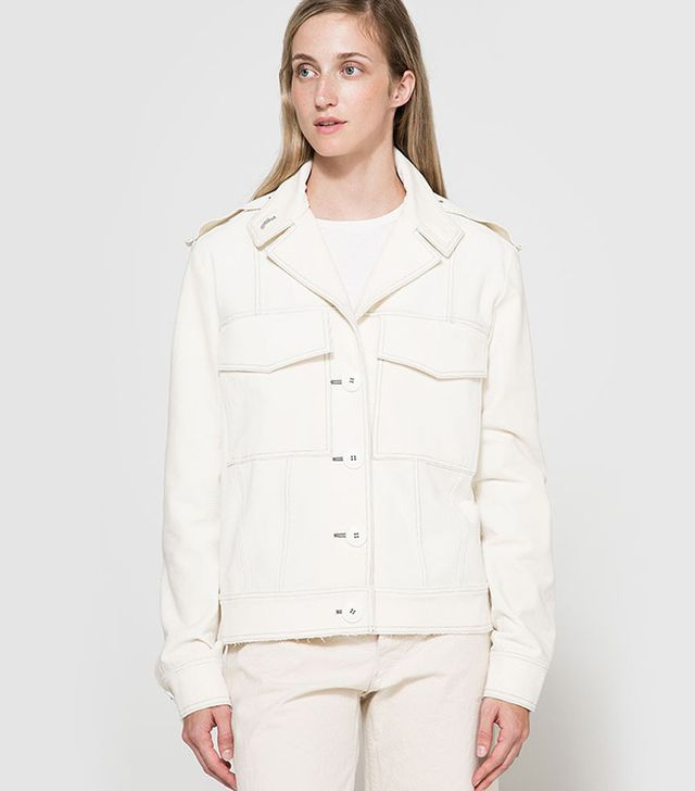 Frankie Cord Contrast Stitch Jacket