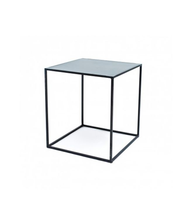 ABC Carpet & Home Flatiron Wrought Cube Side Table