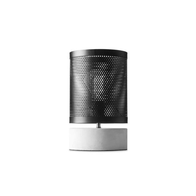 Kmart Mesh Lamp - Black & Grey