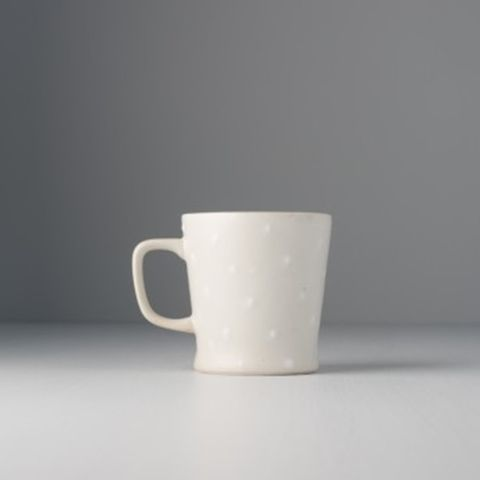 Mug With Handle Tapered Shape