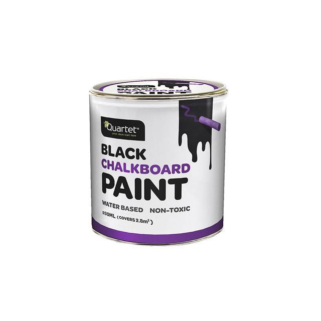 Quartet Devine Color 1-Quart Chalkboard Paint in Coal