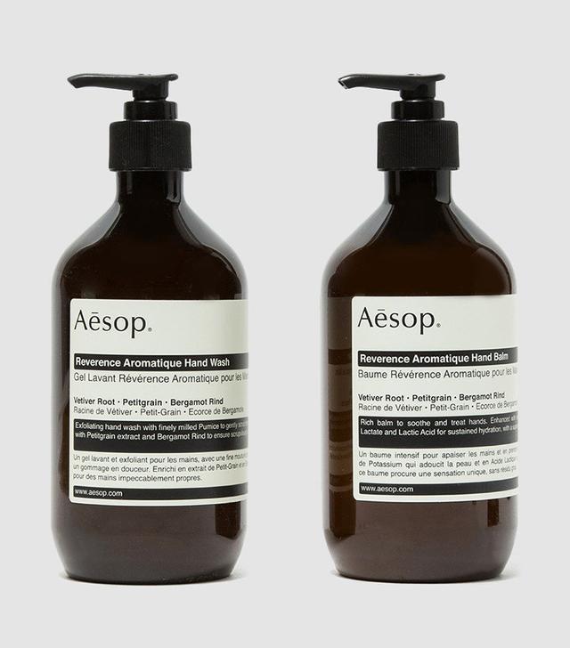 Aesop Reverence Hand Duet