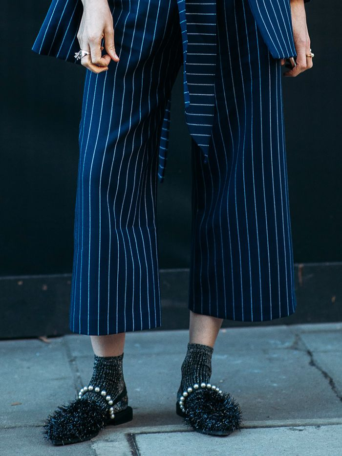 The Flattering Trick Behind Wearing Culottes With the Right Shoes