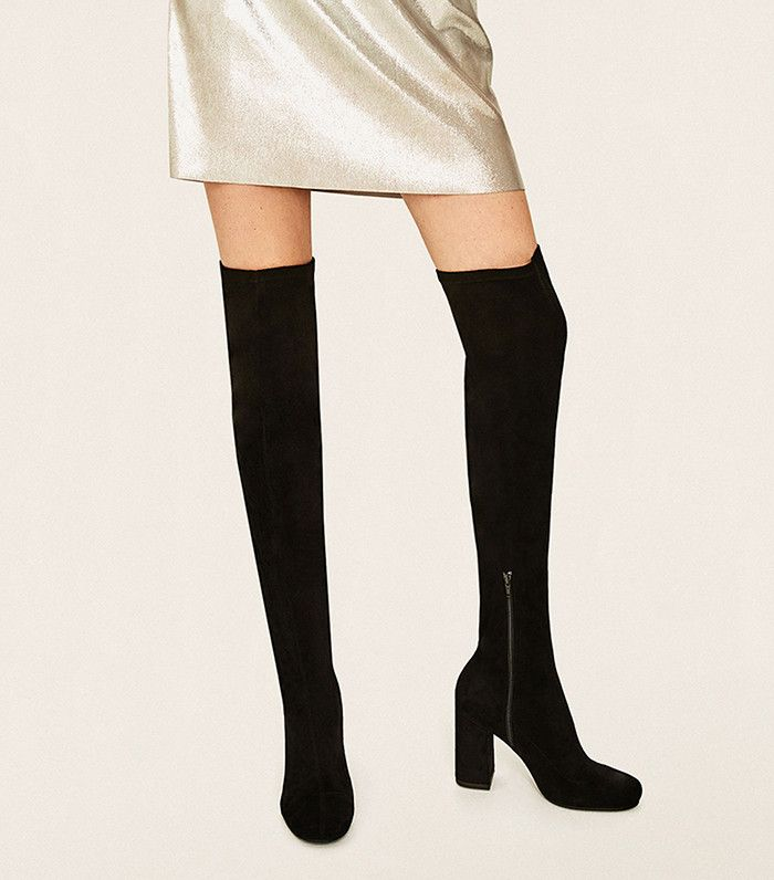 9f36bf0bc48 The Coolest Over-the-Knee Suede Boots for Every Budget