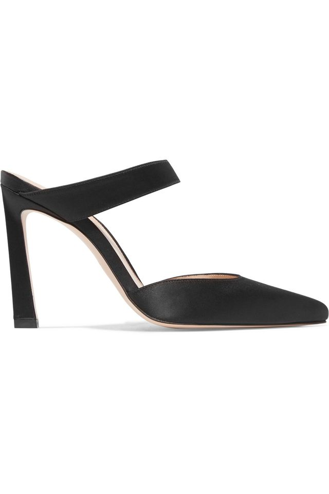 The Row Coco Suede And Moire Pumps
