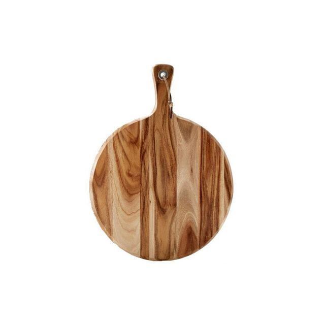Kmart Round Acacia Wood Paddle Board
