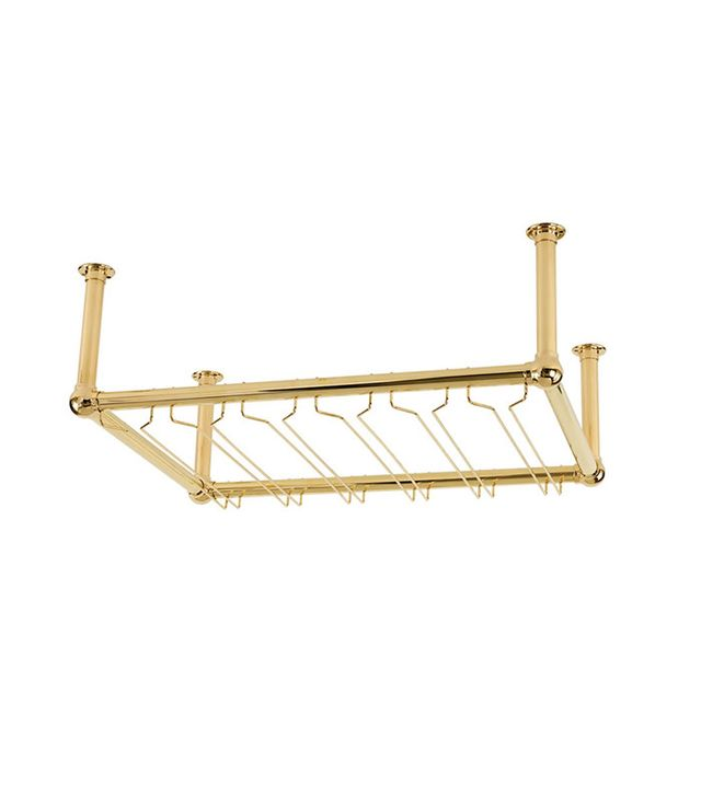ESP Metal Products Overhead Bar Glass Rack