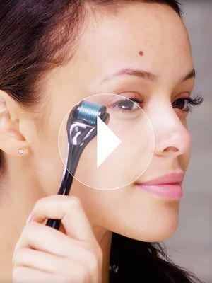 Watch: How to Use a Derma-Roller to Erase Eye Bags, Plump Wrinkles, and More