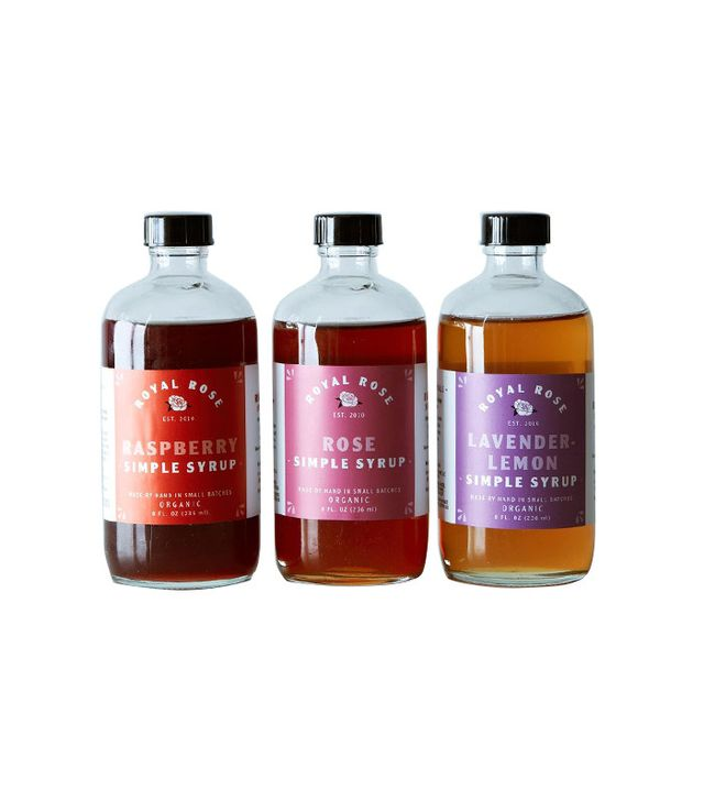 Royal Rose Syrups Fruit and Floral Syrup