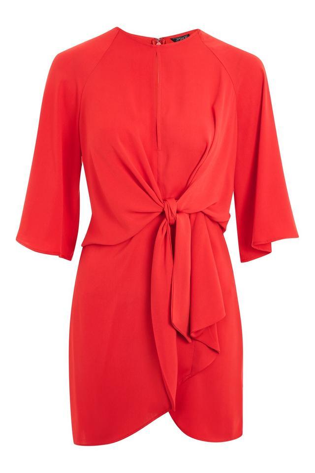 Ellery Duckie Flared-Sleeve Mini Dress