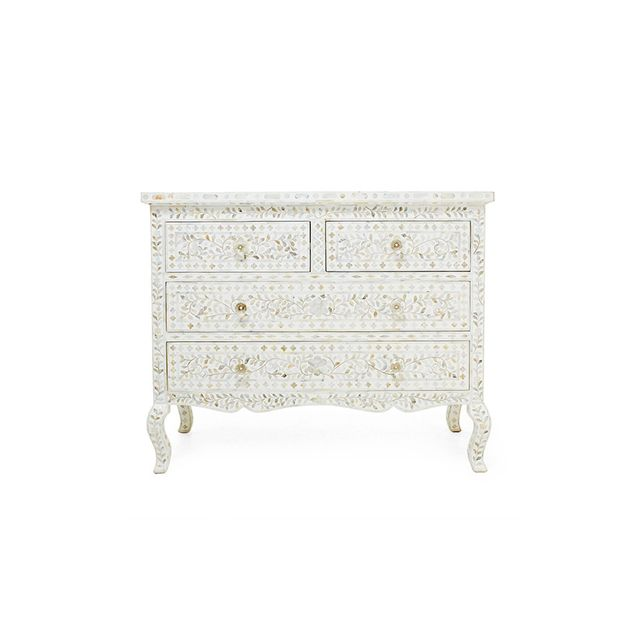 ABC Home Mother of Pearl Chest